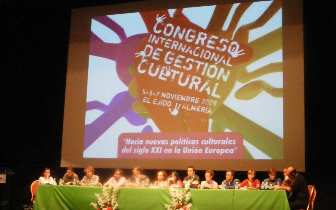 Congreso Internacional de Gestión Cultural en el Marco Europeo