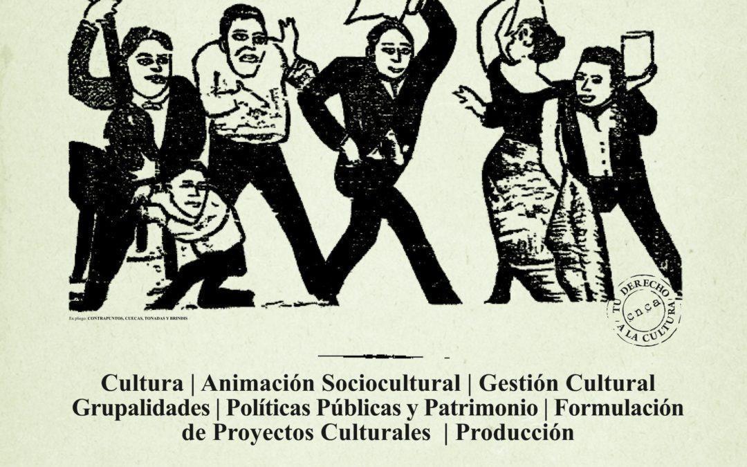 Nómina curso IX Escuela de Gestores y AnimadoresCulturales