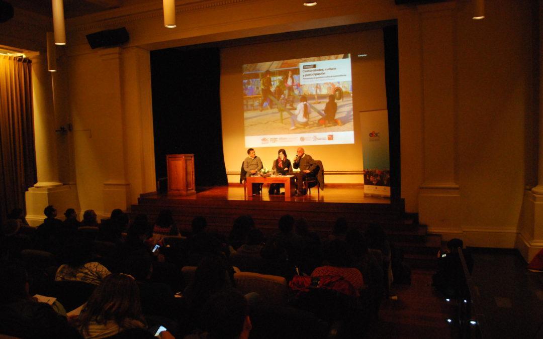 Destacando la participación y protagonismo de las comunidades, concluye Seminario sobre gestión cultural comunitaria