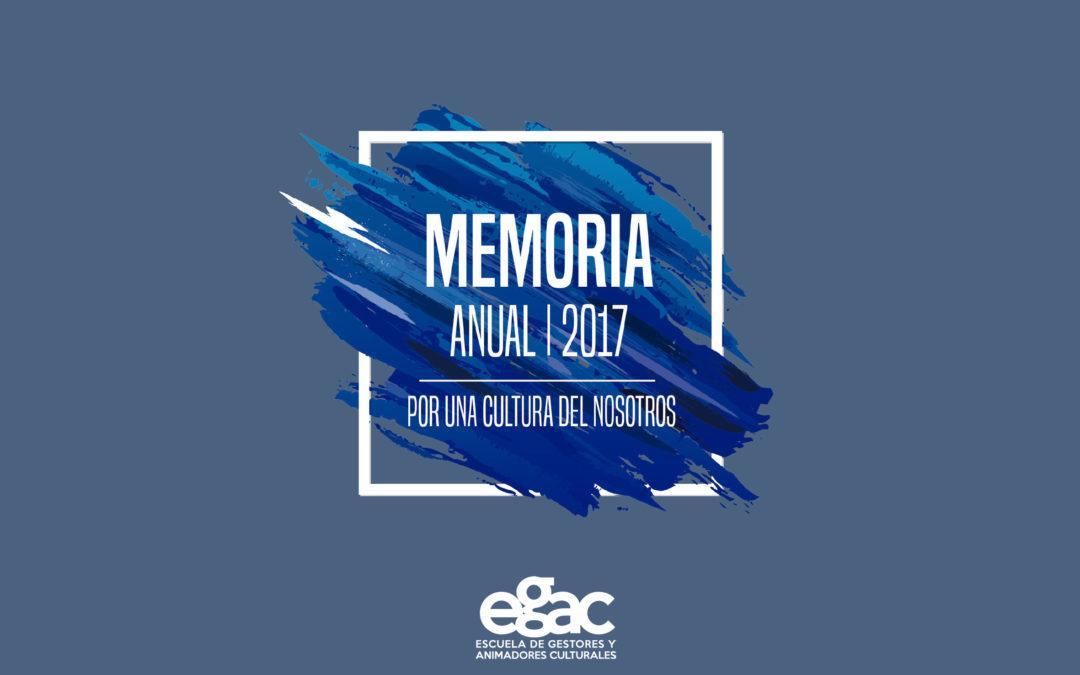 Pensando la experiencia: Egac presenta memoria anual 2017