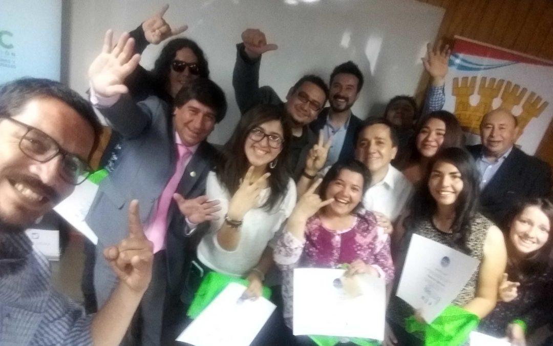 Se certifica Escuela de Gestión Cultural Comunitaria en Coelemu