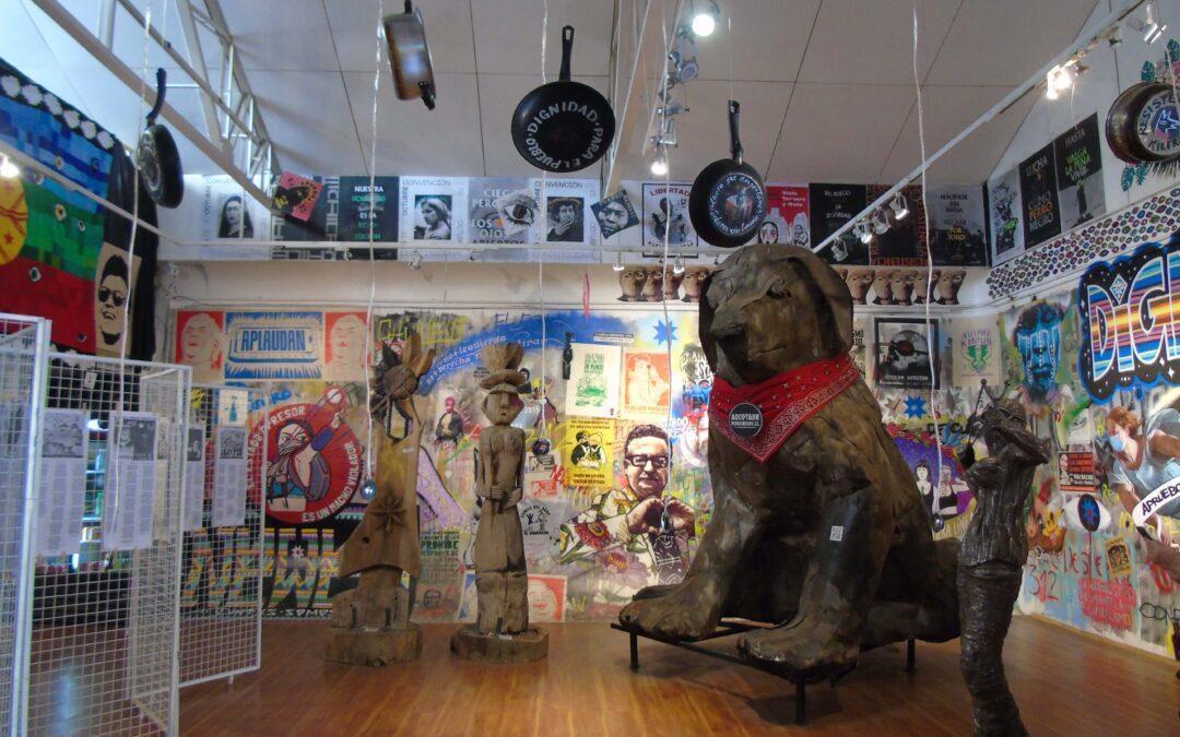 De visita en el Museo del Estallido social