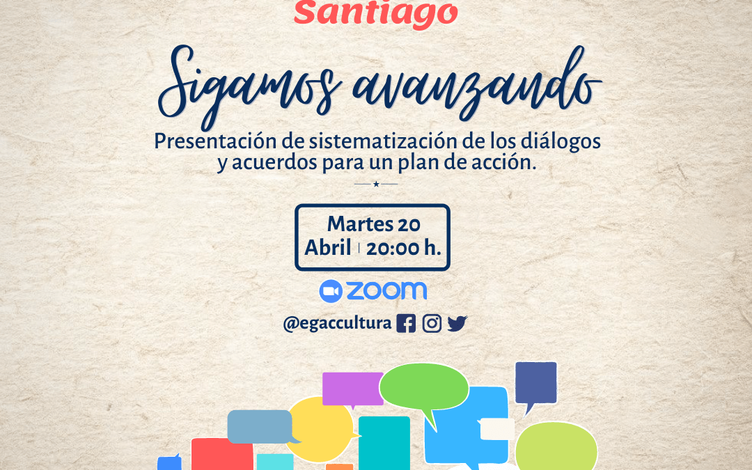Con presentación de sistematización inicial, continúan los Diálogos por la cultura en Santiago