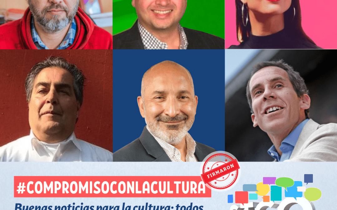 Buenas noticias para la cultura: todos los candidatos a alcalde se comprometen con agenda de cambios para el sector