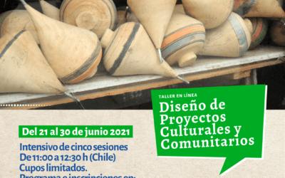 Abierta inscripción a talleres de diseño de proyectos culturales y sistematización de experiencias