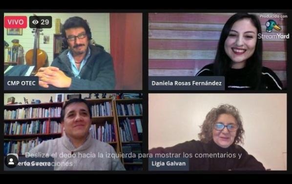 Desde la Región de Los Ríos, se realizó una nueva presentación del libro «Pensar lo comunitario»
